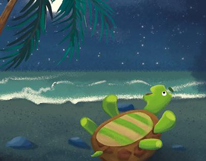 "Children's book ""In seas and oceans"""