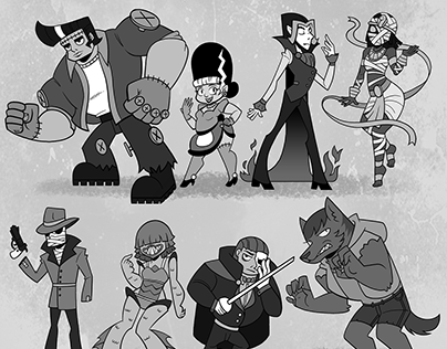 Monster Mash! An Exercise in Character Design