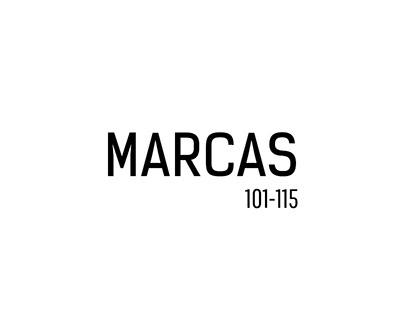 Marcas 101-115