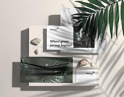 Odyssey Branding Mockup
