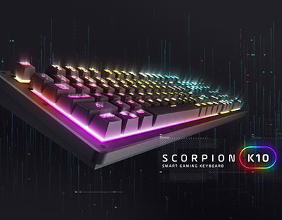 GX Gaming - K10 Smart Keyboard