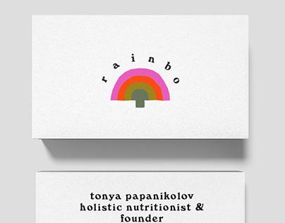Rainbo Mushrooms Brand Identity