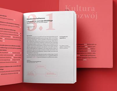 """Kultura a rozwój"" Handbook"