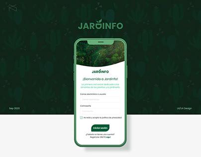 Jardinfo - UI/UX Design