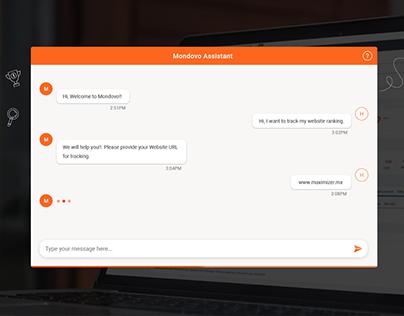 Customer Support Chatbox UI Design