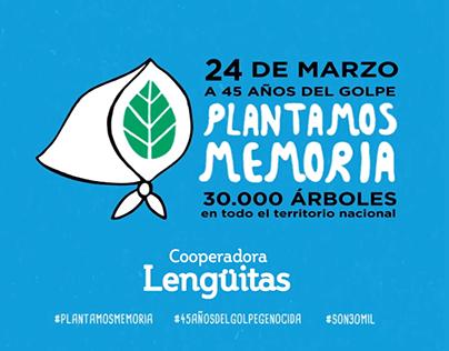 #PlantamosMemoria