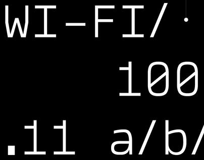 Wixx Mono Typeface
