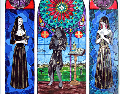 Stained glass (Powerwolf)