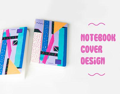 Notebook cover design