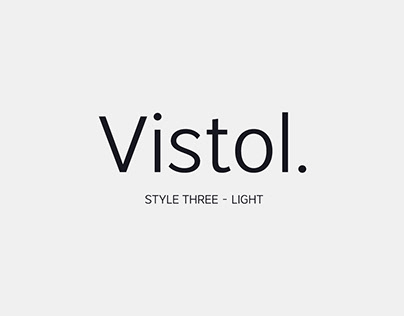 Free Vistol Fonts