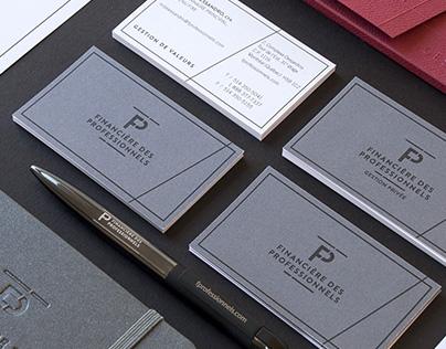 FINANCIÈRE DES PROFESSIONNELS – Branding