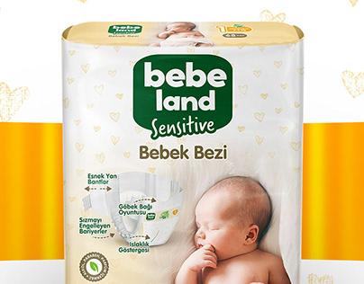 Bebeland Bebek Bezi - Şok Market
