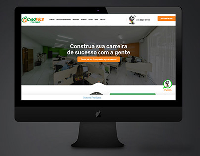 Site - Franquias CredFacil - WordPress