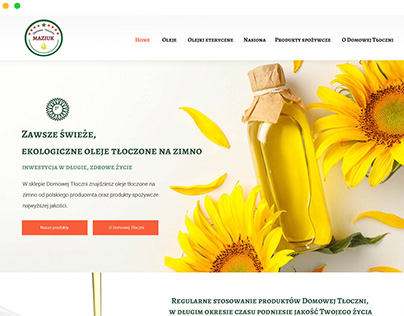 Oil Press Company Website, Store & Pictures