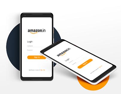 Amazon India Redesign