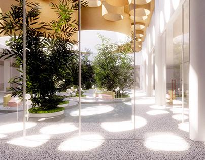 ATMOSPHERE - digital interior design project.