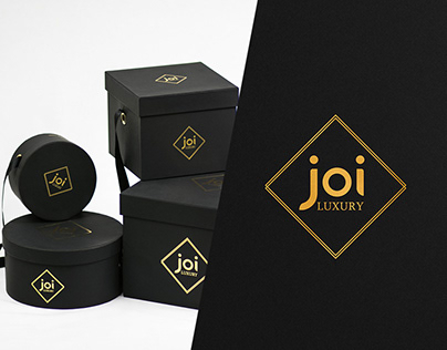 "Corporate Identity for the ""joi Luxury"". UAE."