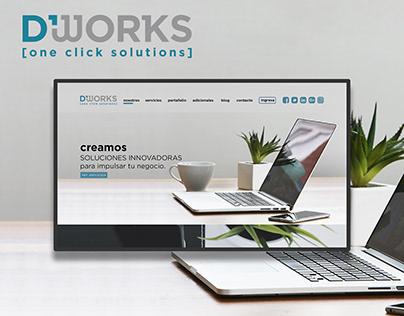 D'works / Logo + Web design