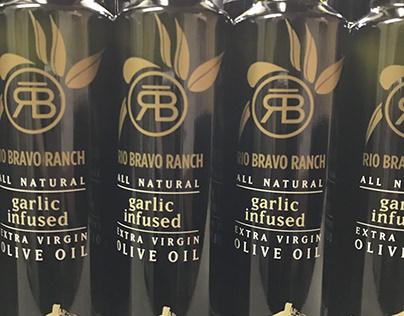 Rio Bravo Ranch Olive Oil bottles
