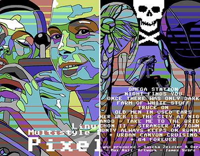 Pixels album cover