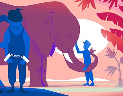 Standard Chartered Wildlife Trafficking - designs