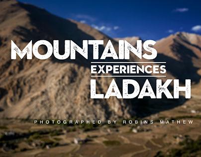 Mountains. Experiences. Ladakh.
