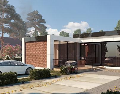 House in Krasnodar. Modern villa 01