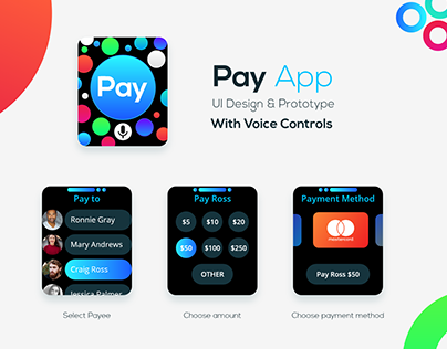 Daily Creative Challenge - Day 6 - Payment app