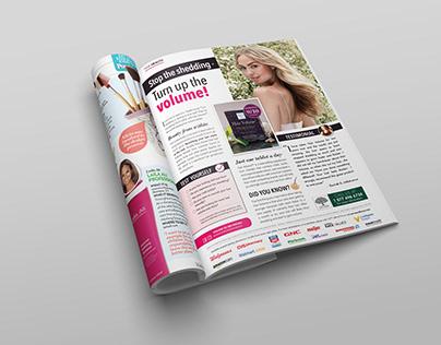 New Nordic Inc. Print Ad & Social Media Content