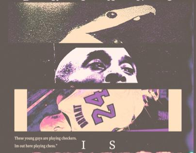 Kobe Bryant Tribute poster