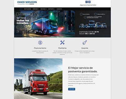 web Chaco Servicios (IVECO)