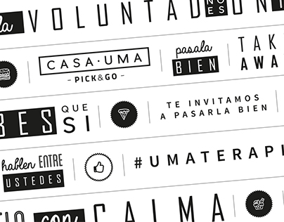 """Casa Uma"" - Packaging Design."