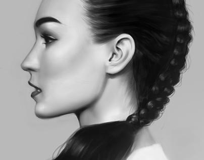 Profile Portrait Study