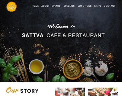 Sattva Restaurant project