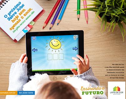 Campanha Escola Lápis de Cor - Ensinando o futuro