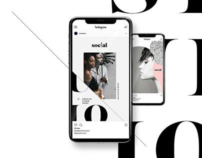 Fashion Social Media Campaign Design