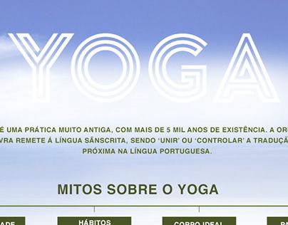 infographic yoga