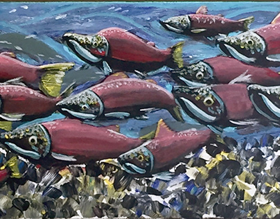 """Salmon Stream"" 2019"