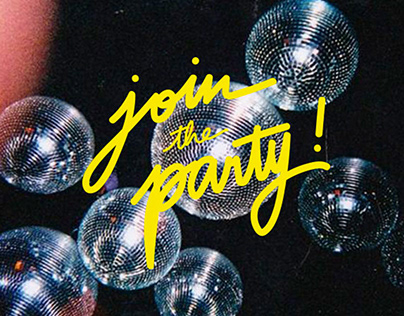 PARTYTIME⎜Typographies