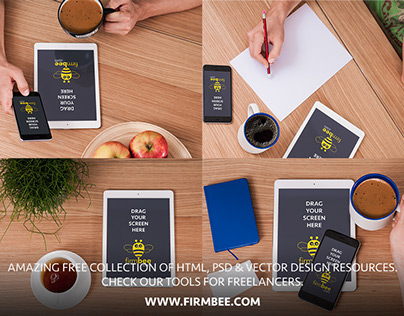Mugs and Things - free PSD Mockups #10