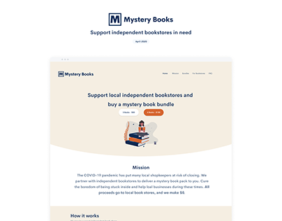 Mystery Books - Support independent bookstores in need