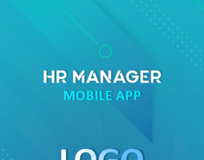 HR manager aap UI design sample