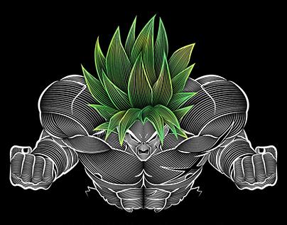 Dragon Ball Super Broly - illustration