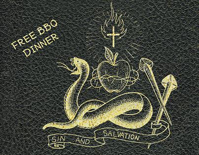 Southern Fried Sunday Sin & Salvation Flyer, 2016