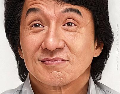 Jackie Chan - Digital Painting