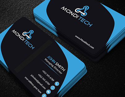 simple business card.
