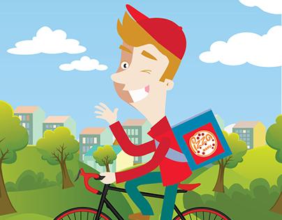 Illustration for Pizza House