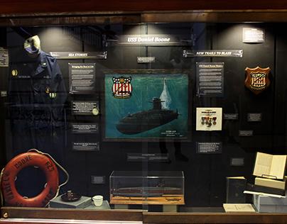 USS Daniel Boone Exhibit