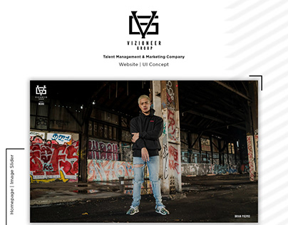 Vizioneer Group Website | UI Concept