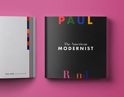 Tribute Book: The American Modernist: Paul Rand